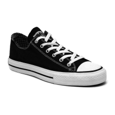 Toko Compass Kg 032 Low Cut Sneakers Hitam Putih Compass