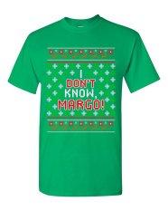 CONLEGO KAUS PASANGAN MATCHING I Tidak Tahu Margo Liburan Jelek Natal Hadiah Lucu DT Dewasa T-Shirt Tee Green-Intl