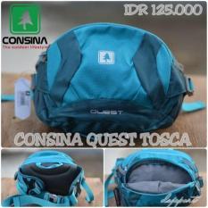 Consina Quest Waist Bag Tas Pinggang Slempang Sporty Original Murah - Cjbdfu