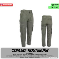 Consina Routeburn Celana Panjang Medan Cargo Pendaki Safety