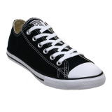 Spesifikasi Converse Chuck Taylor All Star Lean Low Top Sepatu Sneakers Black White Bagus