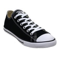 Harga Converse Chuck Taylor All Star Lean Low Top Sepatu Sneakers Black White Yang Murah Dan Bagus
