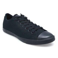 Iklan Converse Chuck Taylor All Star Lean Low Top Sepatu Sneakers Black White