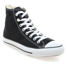 Converse Chuck Taylor As Canvas Hi Unisex Sneakers Hitam Converse Diskon 40