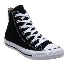 Promo Converse Chuck Taylor All Star Classic Colour High Top Sepatu Sneakers Black White Murah