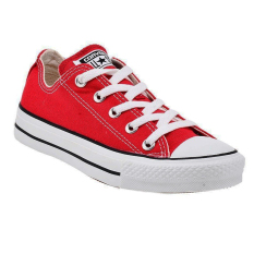Converse Chuck Taylor All Star Classic Colour Low Top Sepatu Sneakers - Red