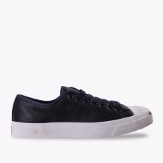 Beli Converse Jack Purcell Jack Leather Ox Men S Sneakers Shoes Biru Tua Kredit