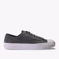 Beli Converse Jack Purcell Pro Ox Men S Sneakers Shoes Abu Abu Dengan Kartu Kredit