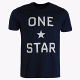 Jual Converse One Star Brand Men S T Shirts Dark Navy Online