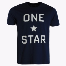 Situs Review Converse One Star Brand Men S T Shirts Dark Navy