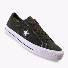 Promo Converse One Star Pro Ox Men S Sneakers Shoes Olive Murah