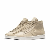 Review Toko Converse Pro Leather 76 Lux Leather Vintage Hi Beige