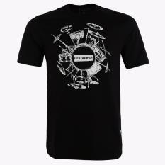Jual Converse Seasonal Illustration Graph Men S T Shirts Hitam Branded