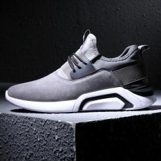 Jual Cool Black Pria Fashion Sneakers Gaya Baru Breathable Mesh Sneakers Men Athletic Sneakers Cahaya Outdoor Sport Menjalankan Sepatu Intl Baru
