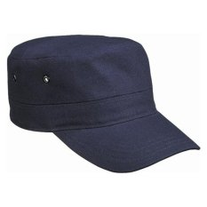 Jual Cool Unisex Casual Olahraga Cap Army Military Cap Top Cap Hat Dark Blue Tiongkok Murah