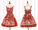 Toko Corak Angin Gaya Jepang Soft Gadis Pakaian Adat Tiongkok Gaun Merah Gaun Baju Wanita Dress Wanita Gaun Wanita Terdekat