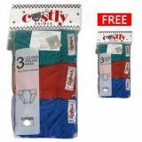 Tips Beli Costly Buy 1 Get 1 Free Celana Dalam Warna Isi 3Pcs Gratis 3Pcs Yang Bagus