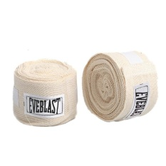 Beli Cotton Bandage Sports Absorb Sweat Elastic Hand Wraps For Mma Boxing Pair All Colors Intl Tiongkok
