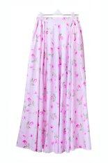 Cotton Heaven Rok Umbrella Maxi Katun Jepang Shabby Chic Baby Pink - RKJ01