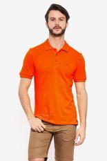 Country Fiesta  Men Clothing Polo Shirts  Shirts Men Pakaian Polo Orange Jeruk Diskon discount murah bazaar baju celana fashion brand branded