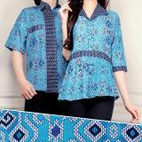 Harga Couple Batik Atasan Blouse Kemeja Wanita Dan Atasan Kemeja Pria Shirt Naura Kemeja Asli