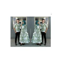 Couple Batik Gamis Simple Elegan