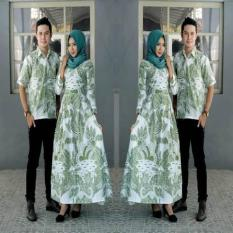 Couple Batik Gamis Simple Elegan