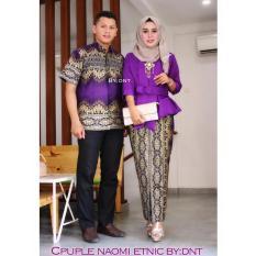 Couple Batik Naomi Etnic Ungu