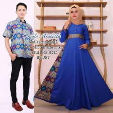 Couple Gamis Arabella Biru