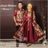 Dapatkan Segera Couple Gamis Mahkota Maroon
