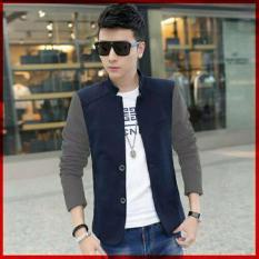 Couple lover - jaket blazer / jaket man JACKY navy grey