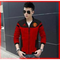 Jual Couple Lover Jaket Pria Mu Red Jaket Man Jaket Blazer Fashion Pria Jaket Bomber