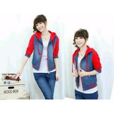 Promo Toko Couple Lover Jaket Wanita Cherry Merah Fashion Wanita Jaket Bomber Jaket Hoodie Jaket Cewek