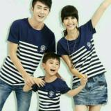Spesifikasi Couple Lover Kaos Couple Family Sailor Navy Ayah Ibu Anak Fashion Family Baju Keluarga T Shirts Couple Family Dan Harganya
