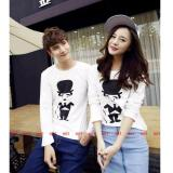 Harga Couple Lover Kaos Couple Stick White Lp Pria Wanita T Shirts Couple Fashion Atasan Baju Pasangan Kaos Kembaran Couplelover Ori