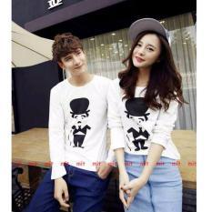 Beli Couple Lover Kaos Couple Stick White Lp Pria Wanita T Shirts Couple Fashion Atasan Baju Pasangan Kaos Kembaran Murah Dki Jakarta