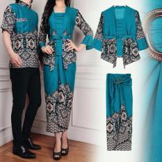 Couple Maulana Tosca Couple Kemeja Baju Batik Pria Couple / Gamis Muslim / Kebaya Dress Wanita / Set Muslim / setelan baju  muslim / kabaya pesta / kebaya modis