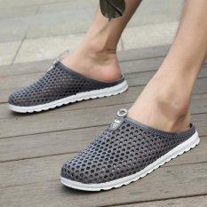 Toko Beberapa Model Sandal Plastik Shuo Sungai Sepatu Pria Dan Wanita Lubang Lubang Sepatu Sandal Abu Abu Intl Terlengkap Di Tiongkok