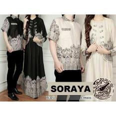 Couple SORAYA SARAH Baju Koko Gamis Maxi Blazer