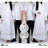 Cuci Gudang Couple Store Cs Baju Pasangan Blouse Coco White 2 Pc