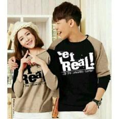 Spesifikasi Couple Store Cs Baju Pasangan G Real Coksu Cod 2Pc I Lengan Panjang I Couple T Shirt I Bayar Tempat I Couple Store Cs