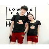 Jual Couple Store Cs Couple Stelan Atasan Celana Frank Monkey Black Ori