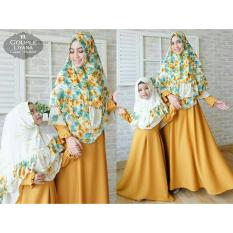 Jual Beli Couple Store Cs Cp Mom Kids I Dress Muslim Ibu Dan Anak I Couple Mk I Good Quality I Bahan Import I Cpmk Mustard I Di Indonesia