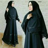 Harga Couple Store Cs Dress Muslim Syari Elegant Dan Anggun Black Bahan Premium Original