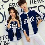 Beli Barang Couple Store Cs Jaket Pasangan Ex I Xo Navy 2 Pc Jaket Babyterry Online