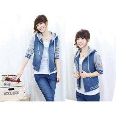 Jual Beli Couple Store Cs Jaket Wanita Cherry Abu Di Dki Jakarta