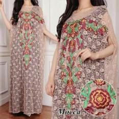 couple store cs - kaftan victoriia mocca + full bordiran tanpa mangset good quality
