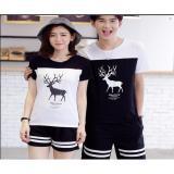 Toko Couple Store Cs Kaos Couple Rusa Lengan Pendek Terlengkap