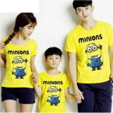 Review Couple Store Cs Kaos Keluarga T Shirt Family Ayah Bunda Anak Minion Yellow Terbaru