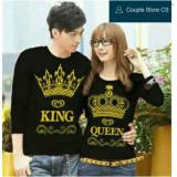 Ulasan Tentang Couple Store Cs Kaos Pasangan Lp King Queen Black